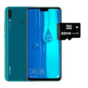 Celular Huawei Y9 2019 64gb 4Gb Ram Dual Sim - AZUL + SD 32GB