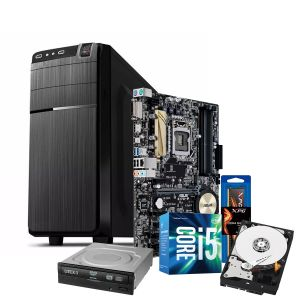 Computadora Pc Intel Core I5-7400 Disco Duro 1TB Ram 8GB Unidad DVD WIFI